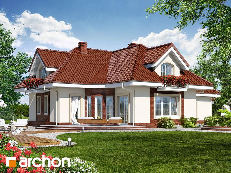 gotowy projekt Dom w aloesie 3 widok 1