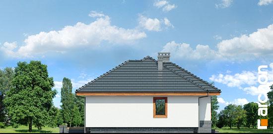 Elewacja boczna projekt dom we wrzosach ver 2  266