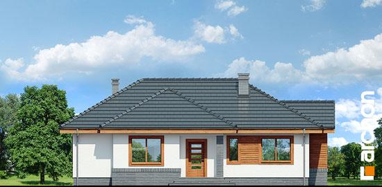 Elewacja frontowa projekt dom we wrzosach ver 2  264