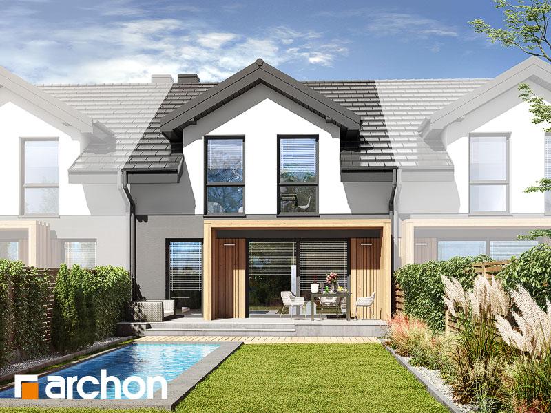 gotowy projekt Dom w kupidynkach (GS) widok 1