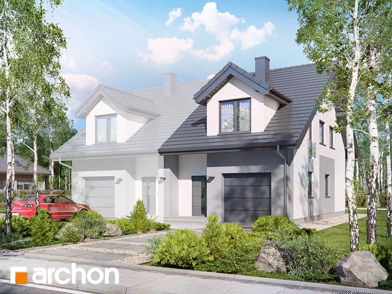 gotowy projekt Dom pod miłorzębem 7 (GB) widok 1