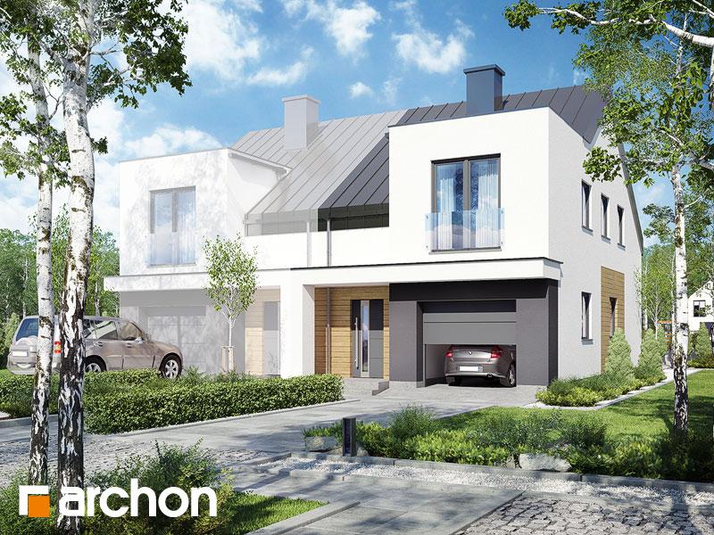 gotowy projekt Dom pod miłorzębem 7 (GBN) widok 1