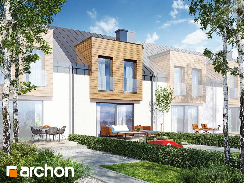 gotowy projekt Dom pod miłorzębem 7 (GSN) widok 1