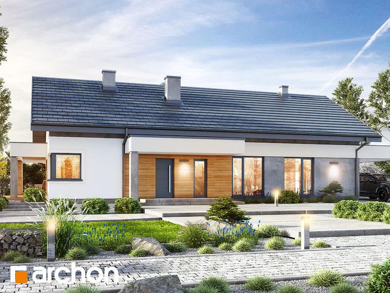 gotowy projekt Dom w mekintoszach 10 widok 1