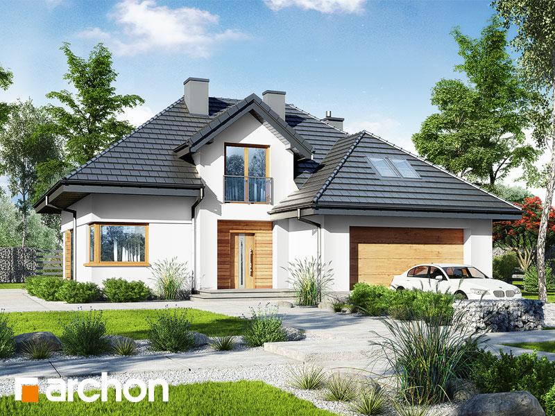 gotowy projekt Dom w kortlandach 3 (G2) widok 1