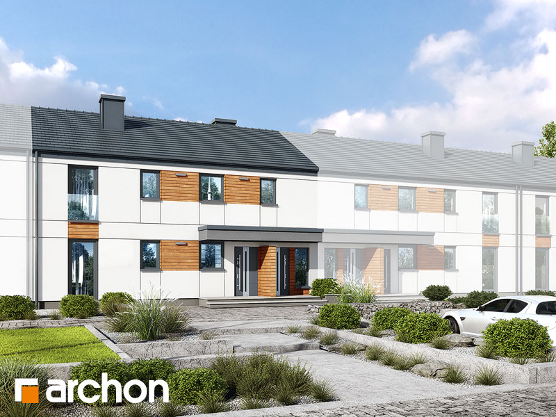 gotowy projekt Dom w halezjach 2 (R2S) widok 1