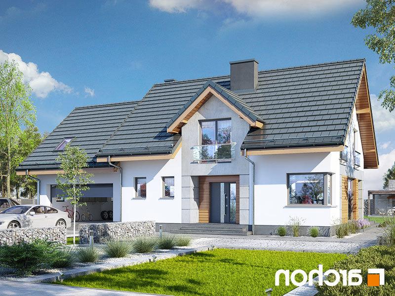 Lustrzane odbicie 1 projekt dom w srebrzykach 2 g2  289lo