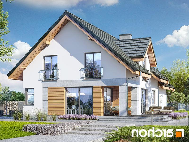 Lustrzane odbicie 2 projekt dom w srebrzykach 2 g2  290lo