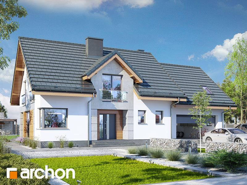 Widok 1 projekt dom w srebrzykach 2 g2  289