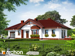 gotowy projekt Dom w storczykach