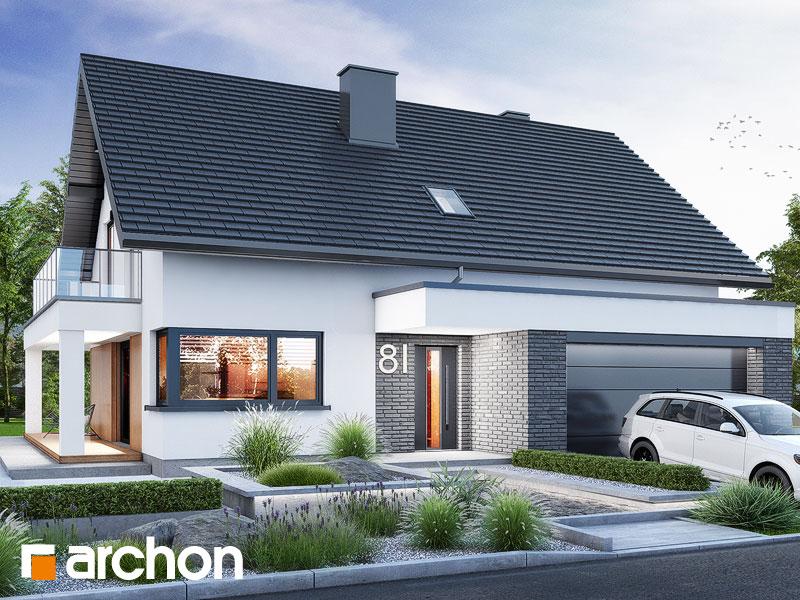 gotowy projekt Dom w nefrisach (G2) widok 1