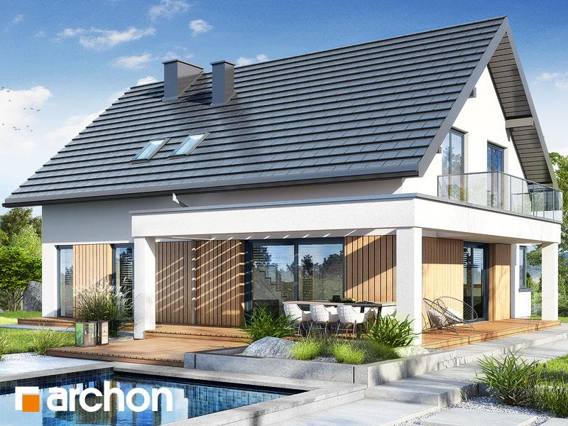 gotowy projekt Dom w nefrisach (G2) widok 2
