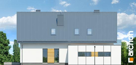 Elewacja boczna projekt dom w marantach g  266