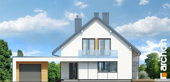 Elewacja frontowa projekt dom w marantach g  264