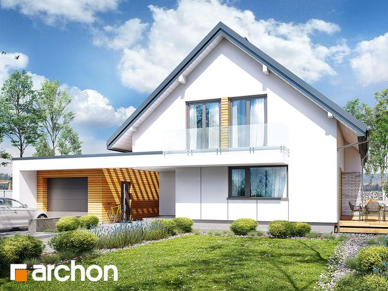 gotowy projekt Dom w marantach (G) widok 1