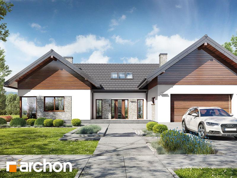 gotowy projekt Dom w kliwiach 8 (G2) widok 1