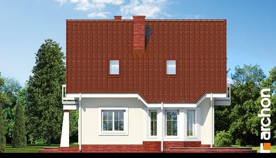 Elewacja boczna projekt dom w winogronach ver 2  265