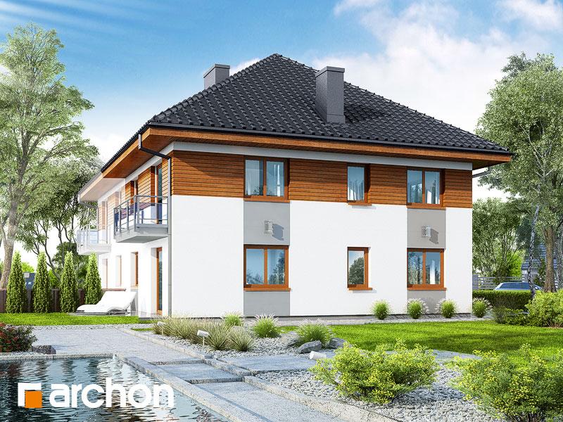 gotowy projekt Dom w kalwilach 2 (AB) widok 1