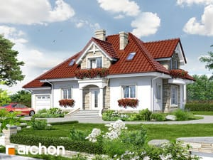 gotowy projekt Dom w kaliach