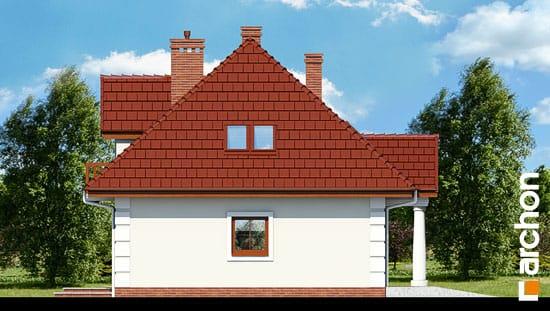 Elewacja boczna projekt dom w winorosli 2  266