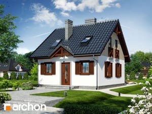 gotowy projekt Dom w borówkach