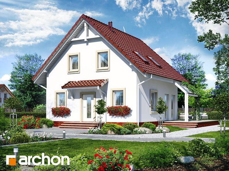 gotowy projekt Dom w oleandrach widok 1