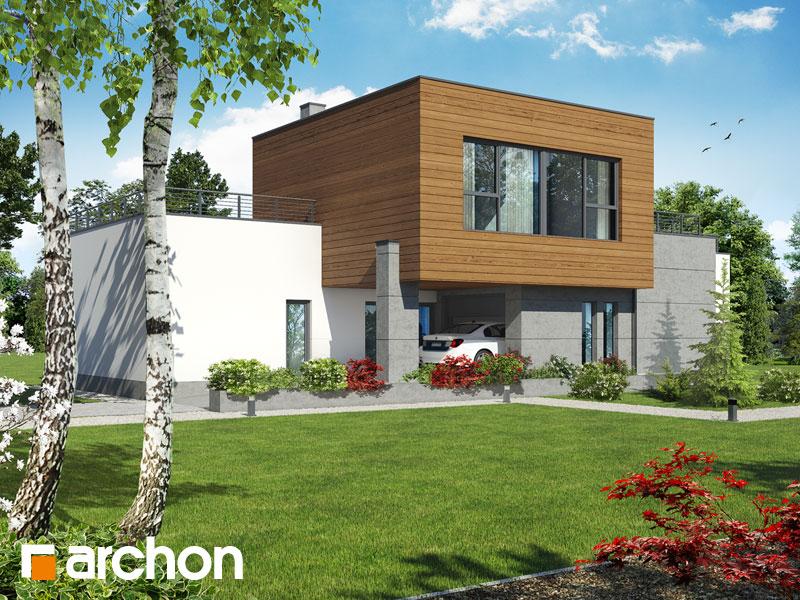 gotowy projekt Dom w borrago (G) widok 2