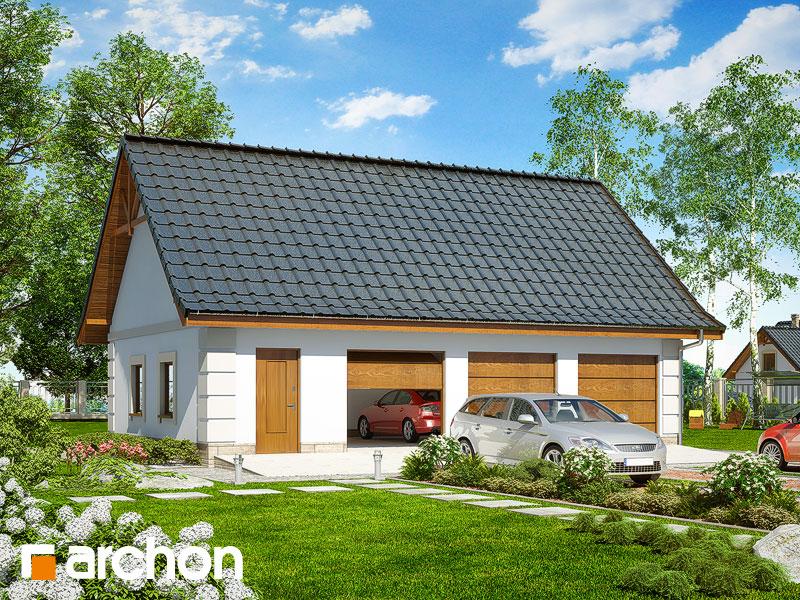 Projekt Garażu Garaż 3 Stanowiskowy G8 Archon