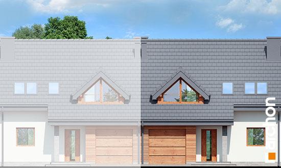 Elewacja frontowa projekt dom w klematisach 3  264