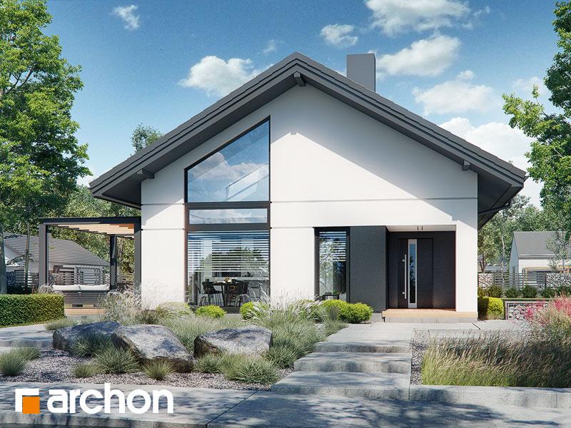 gotowy projekt Dom w lilakach 12 widok 1