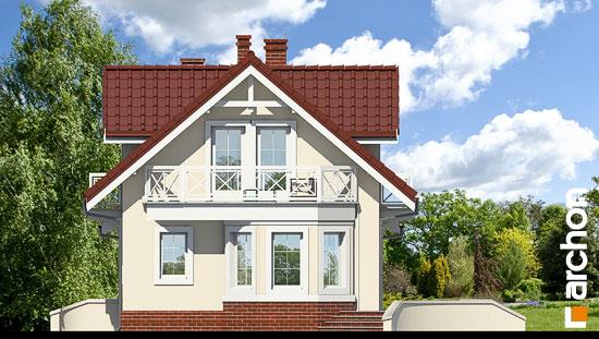 Elewacja boczna projekt dom w perlowce ver 2  266