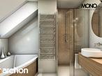 projekt Dom w perłówce Wizualizacja łazienki (wizualizacja 1 widok 1)