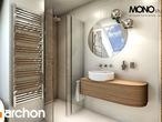 projekt Dom w perłówce Wizualizacja łazienki (wizualizacja 1 widok 4)