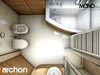 projekt Dom w perłówce Wizualizacja łazienki (wizualizacja 1 widok 5)