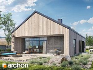 Projekty Domow Jednorodzinnych Nowoczesnych Archon