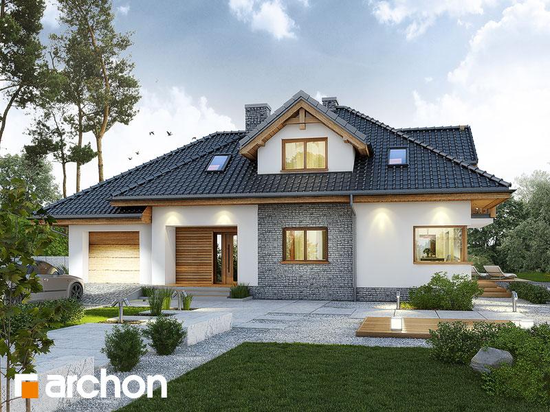 gotowy projekt Dom w kannach 3 widok 1