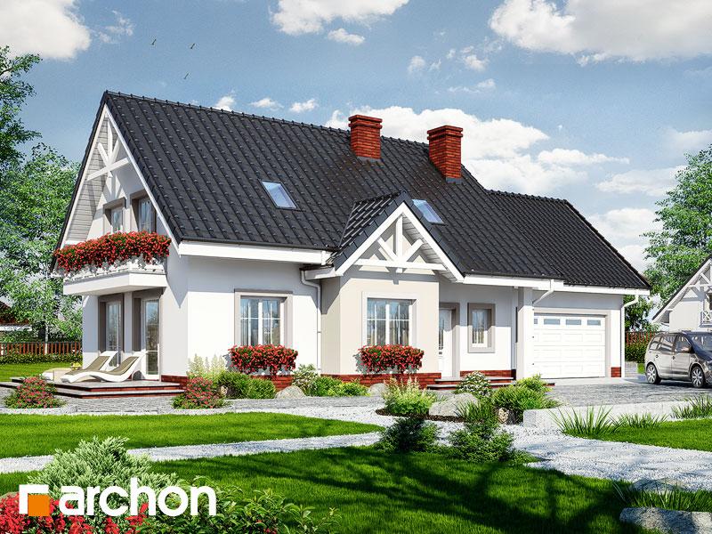 gotowy projekt Dom w groszku (G2) widok 1