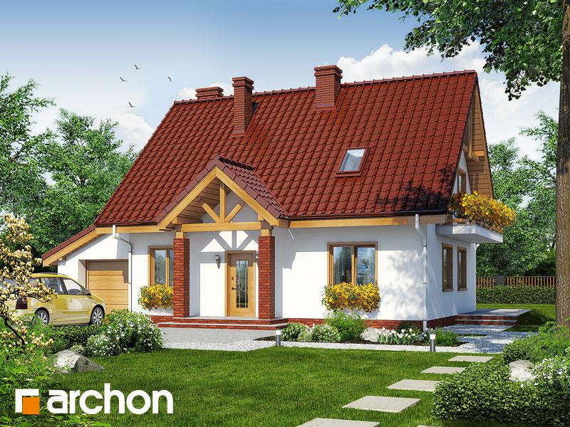 gotowy projekt Dom w prymulkach 3 widok 1