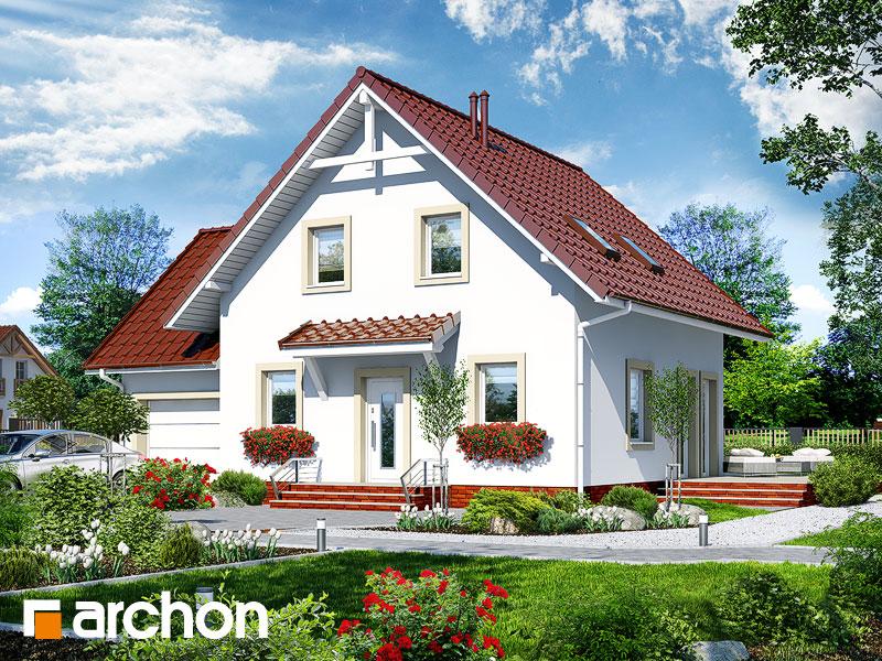 gotowy projekt Dom w oleandrach 3 widok 1
