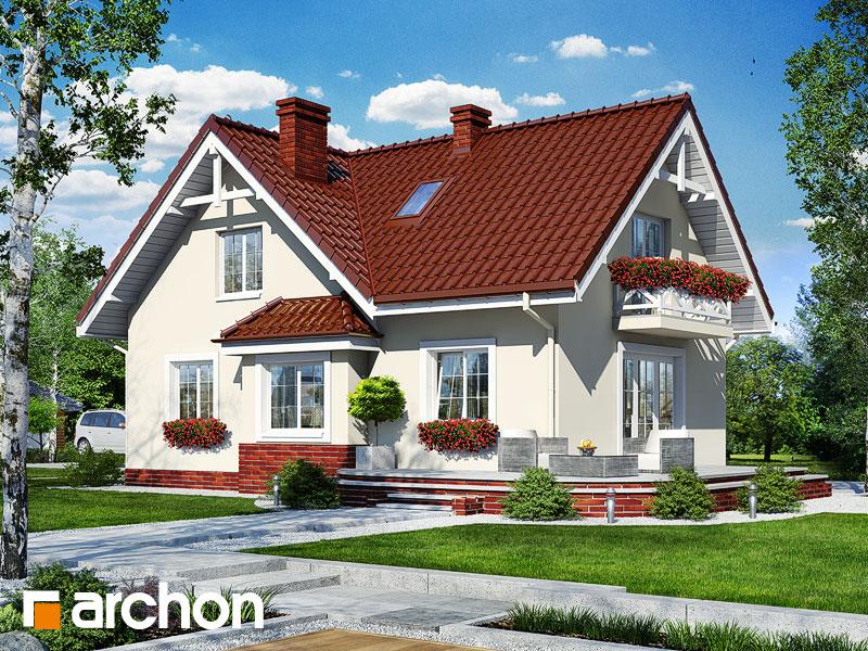 gotowy projekt Dom w wiesiołkach widok 1