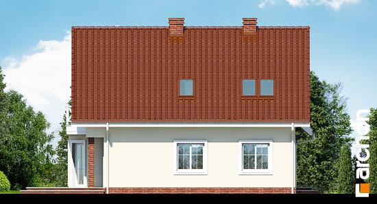 Elewacja boczna projekt dom na polanie 2  265