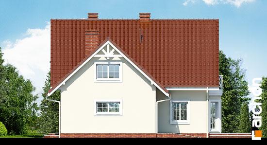 Elewacja boczna projekt dom na polanie 2  266