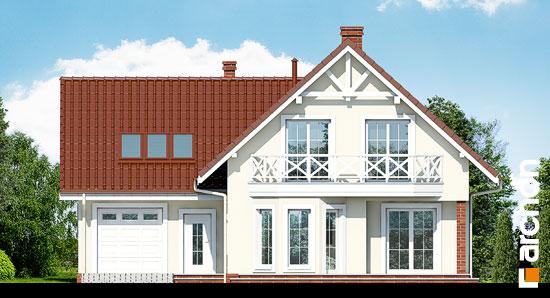Elewacja frontowa projekt dom na polanie 2  264
