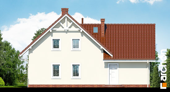 Elewacja ogrodowa projekt dom na polanie 2  267