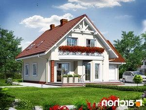projekt Dom na polanie 2 lustrzane odbicie 2
