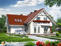projekt Dom na polanie 2 widok 1