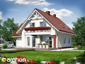projekt Dom na polanie 2 widok 2