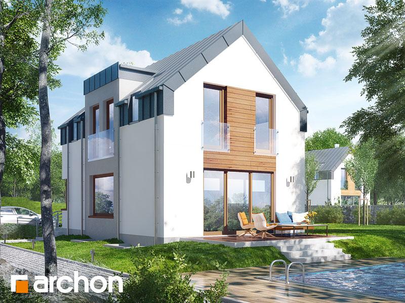 gotowy projekt Dom w andromedach (P) widok 2