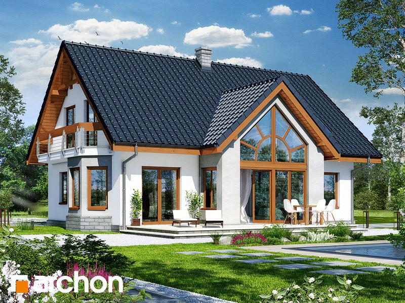 gotowy projekt Dom w melisie widok 1