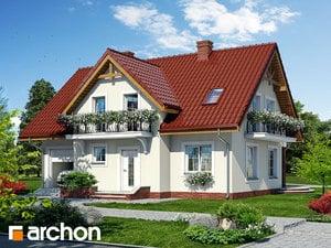 gotowy projekt Dom w fiołkach 3